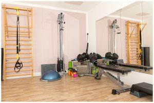Trainingsraum mit Equipment